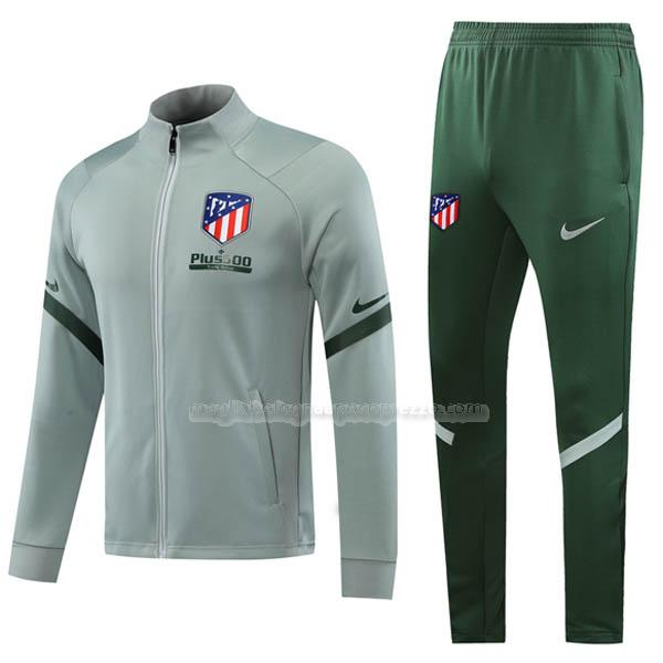 jacket atletico de madrid grigio 2020-21