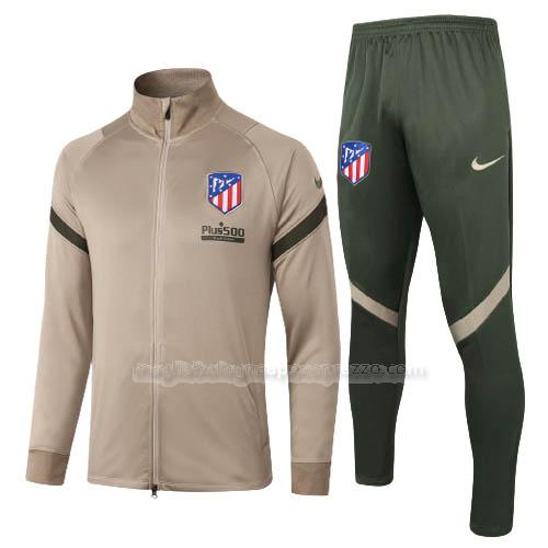 jacket atletico de madrid marrone 2020-21