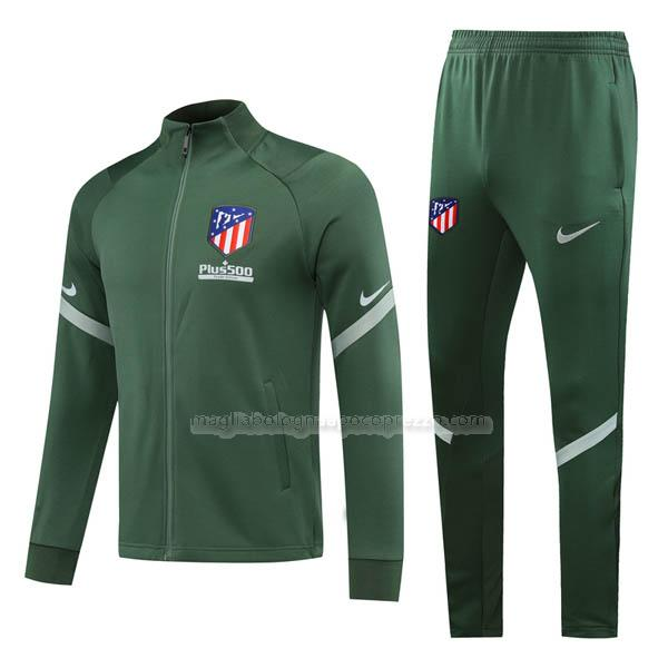 jacket atletico madrid verde 2020-21