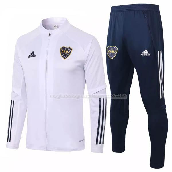 jacket boca juniors bianco 2020-21