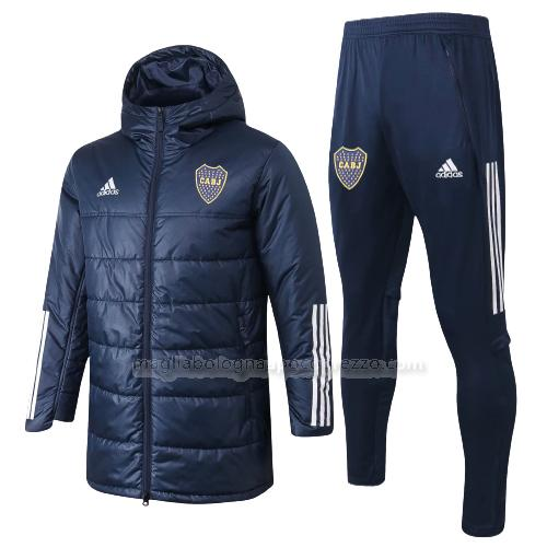 jacket imbottita boca juniors blu navy 2020-21