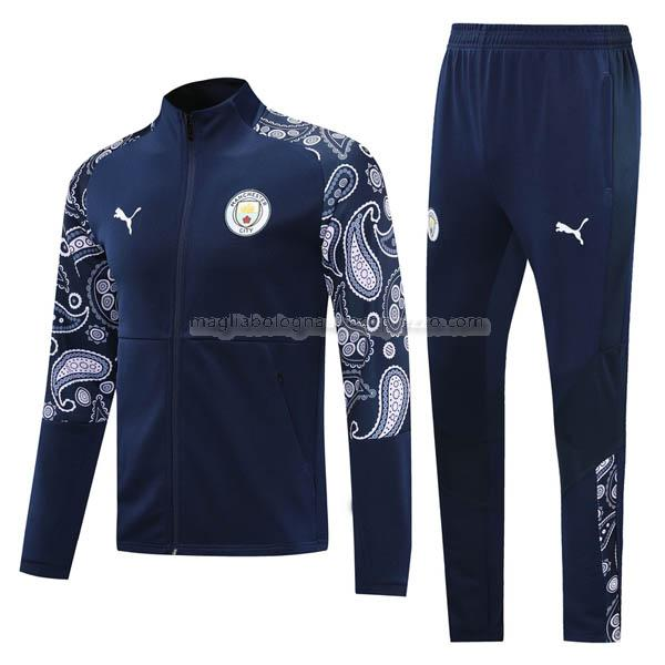 jacket manchester city blu navy 2020-21
